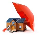 bigstock-red-umbrella-protecting-house--17178077